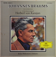 Brahms The 4 Symphonies / in The Interpretation of Herbert von Karajan_d0102724_23311962.jpg