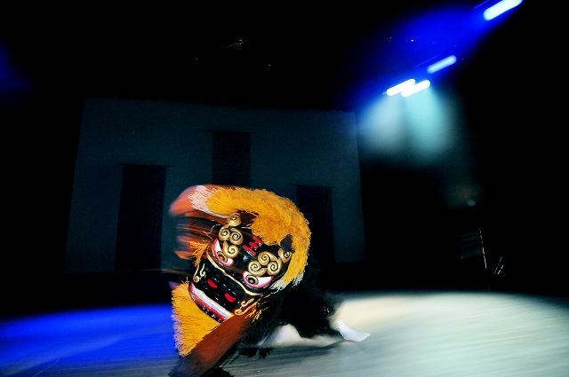「琉球国祭り太鼓 ステージ撮影・・・」11月4日今日のショット_d0019260_0325027.jpg