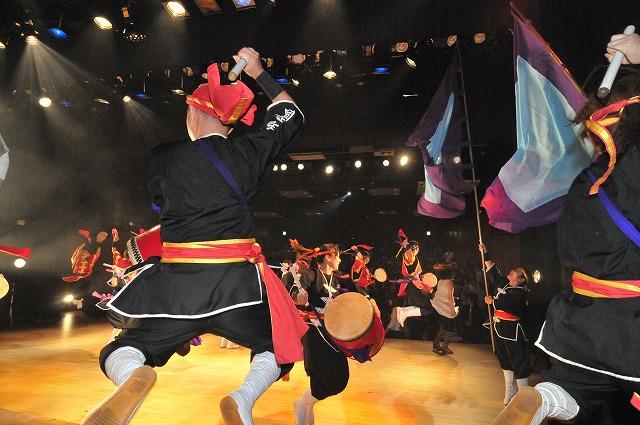 「琉球国祭り太鼓 ステージ撮影・・・」11月4日今日のショット_d0019260_033197.jpg