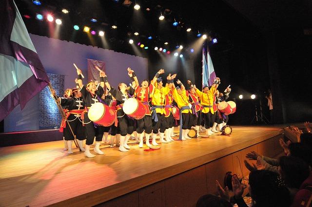 「琉球国祭り太鼓 ステージ撮影・・・」11月4日今日のショット_d0019260_0354168.jpg