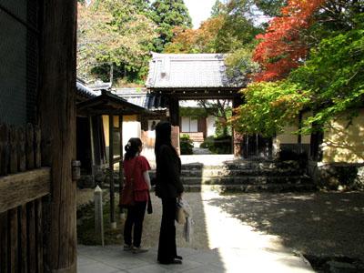 紅葉を訪ねて-神護寺2大師堂_e0048413_2383436.jpg