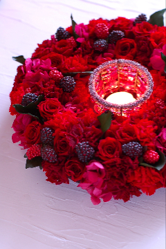 Red Berry Wreath_f0057564_18333562.jpg