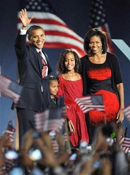 バラク・オバマ氏、黒人初のアメリカ大統領に_b0038294_18434853.jpg