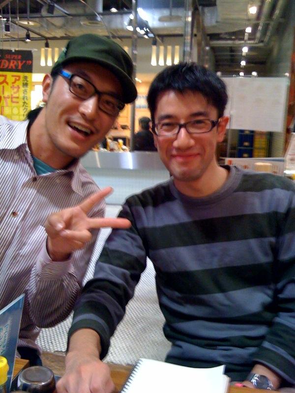 津田君と横浜で_e0143267_1664480.jpg