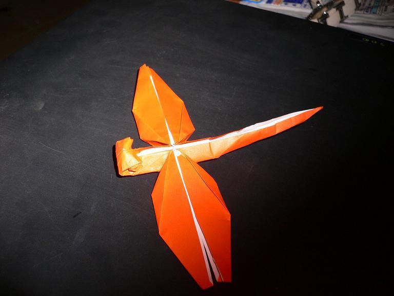 すべての折り紙 トンボの折り紙 : ... 折り紙隊員編~ : 子猫的BOLIVIA