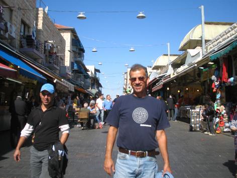 Day5:教授と再会、エルサレム観光_d0026830_21521996.jpg