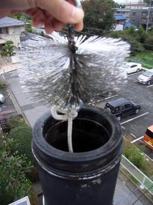 煙突掃除と初焚き_b0038919_1023836.jpg