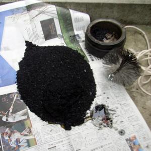 煙突掃除と初焚き_b0038919_10263495.jpg