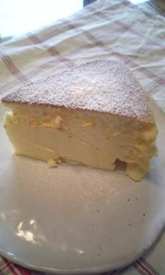 風邪とチーズケーキ_c0176271_1522484.jpg