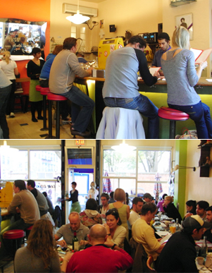 ノリータの人気カフェ カフェ・ジタン(Cafe Gitane)_b0007805_2049177.jpg