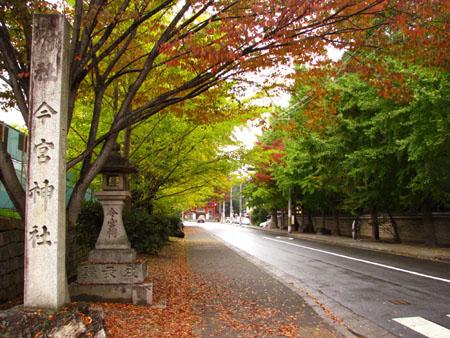 紅葉探訪 今宮神社_e0048413_19483411.jpg