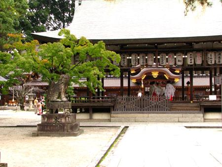 紅葉探訪 今宮神社_e0048413_19485630.jpg