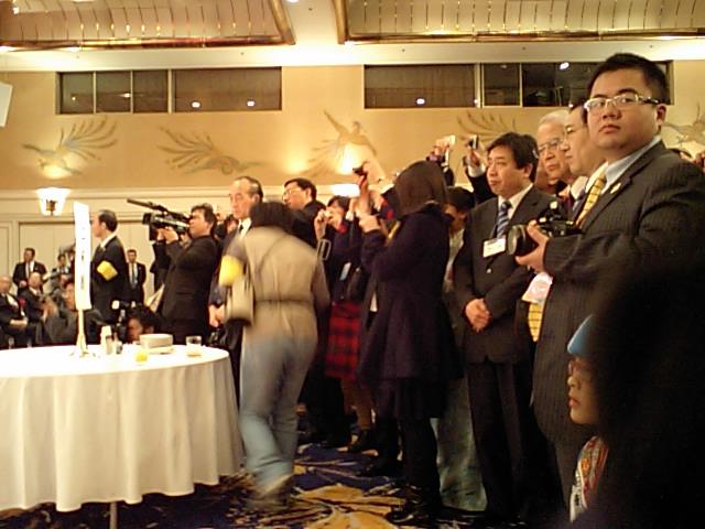 2008日中青少年友好交流年 日本側主催の閉幕式写真 会場の様子_d0027795_19412061.jpg