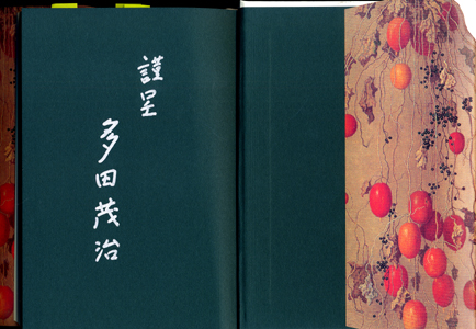 多田茂治著 「野十郎の炎」 増補新版 _b0044404_1950457.jpg