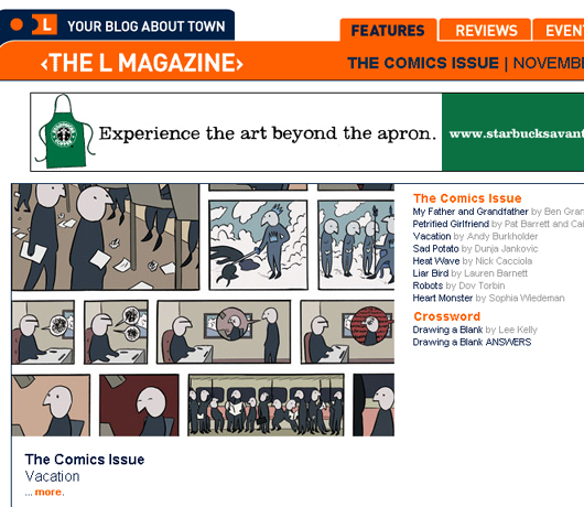 L Magazineのコミック特集 _b0007805_21575431.jpg