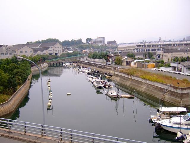2号線バイパス・船越橋からの船越を望む_b0095061_815068.jpg