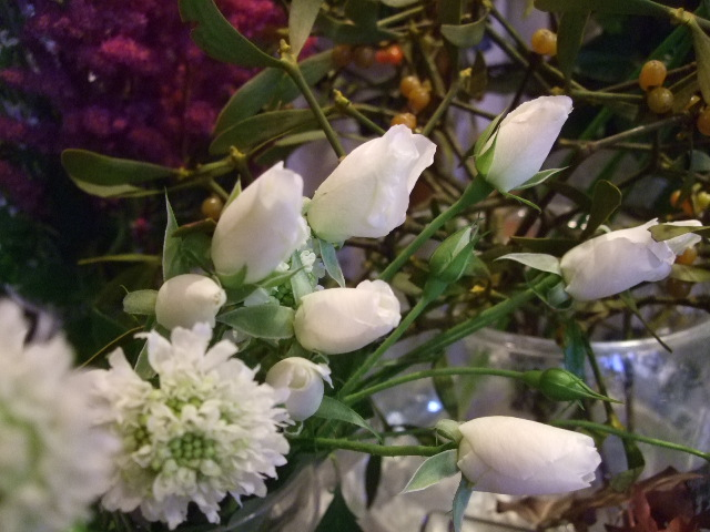 オークリーフ(がんばってお店の花も)_f0049672_18111346.jpg