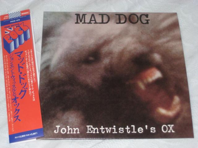 JOHN ENTWISTLE\'S OX / MAD DOG (紙ジャケ)_b0042308_23441170.jpg