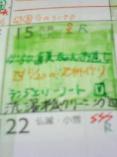 081116 緑ブロックのMagic☆_f0164842_7493046.jpg