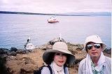 ガラパゴス。ノースセイモア島は平地です。青足カツオ鳥とグンカン鳥のコロニー島でした。(第134編)_e0003272_22433819.jpg