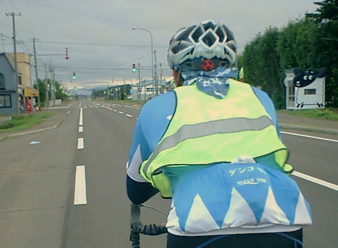 自転車の 反射材 ベスト 自転車 : 反射ベストADX-V ...