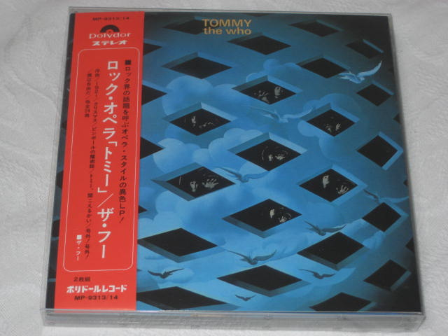 THE WHO / TOMMY -DELUXE EDITION - (紙ジャケ)_b0042308_23335348.jpg
