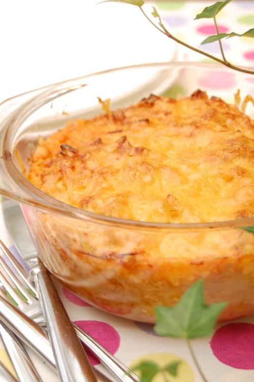 びっくりおいしい☆ツナとキャベツの味噌チーズグラタン_d0104926_2192474.jpg