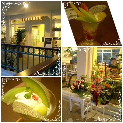 タイ・バンコクのフルーツショップでドリアンにトライ!_a0084343_15561812.jpg