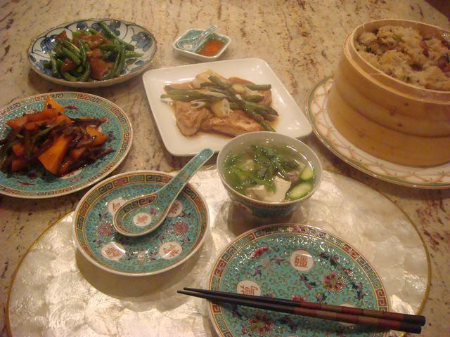 中華おこわの夕食_d0100880_535674.jpg