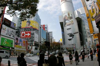 11月18日(火)今日の渋谷109前交差点_b0056983_1485490.jpg