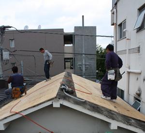 屋根張り_f0192906_22554881.jpg