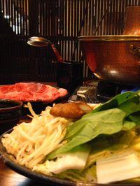 たくみ割烹冬のおすすめ1 ~鳥取和牛 すすぎ鍋~_f0197821_132113100.jpg