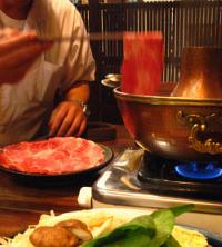 たくみ割烹冬のおすすめ1 ~鳥取和牛 すすぎ鍋~_f0197821_1431291.jpg