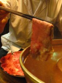 たくみ割烹冬のおすすめ1 ~鳥取和牛 すすぎ鍋~_f0197821_1432854.jpg