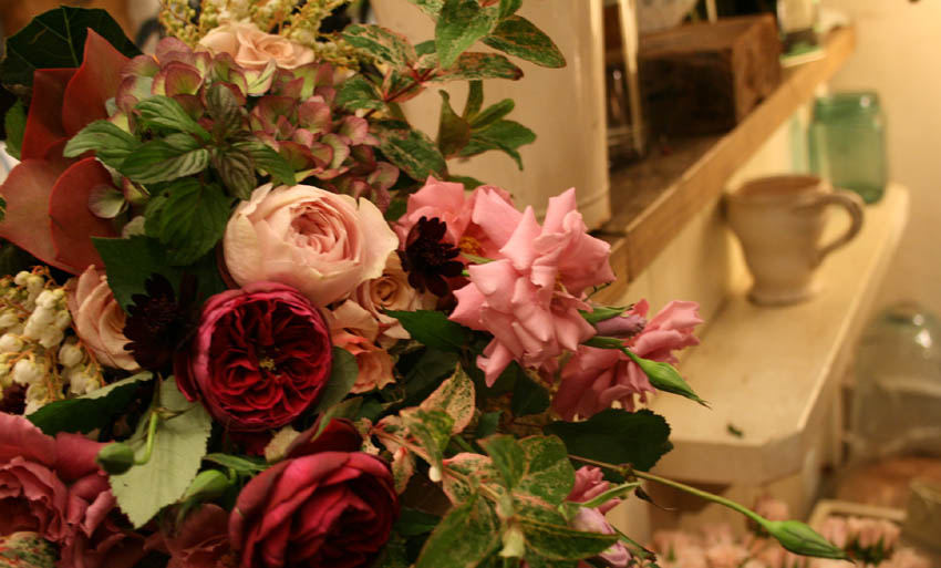 秋の名残の庭の花束_d0005824_19512580.jpg