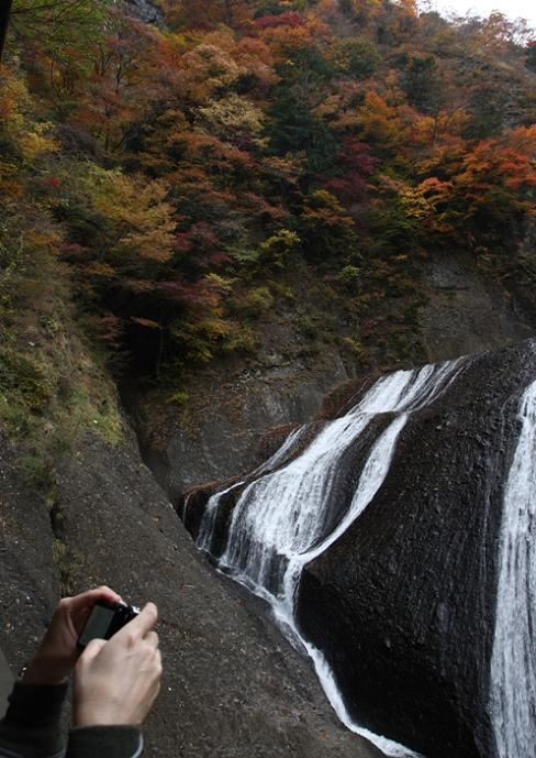 袋田の滝 紅葉<4> 2008年11月15日_e0143883_1834760.jpg