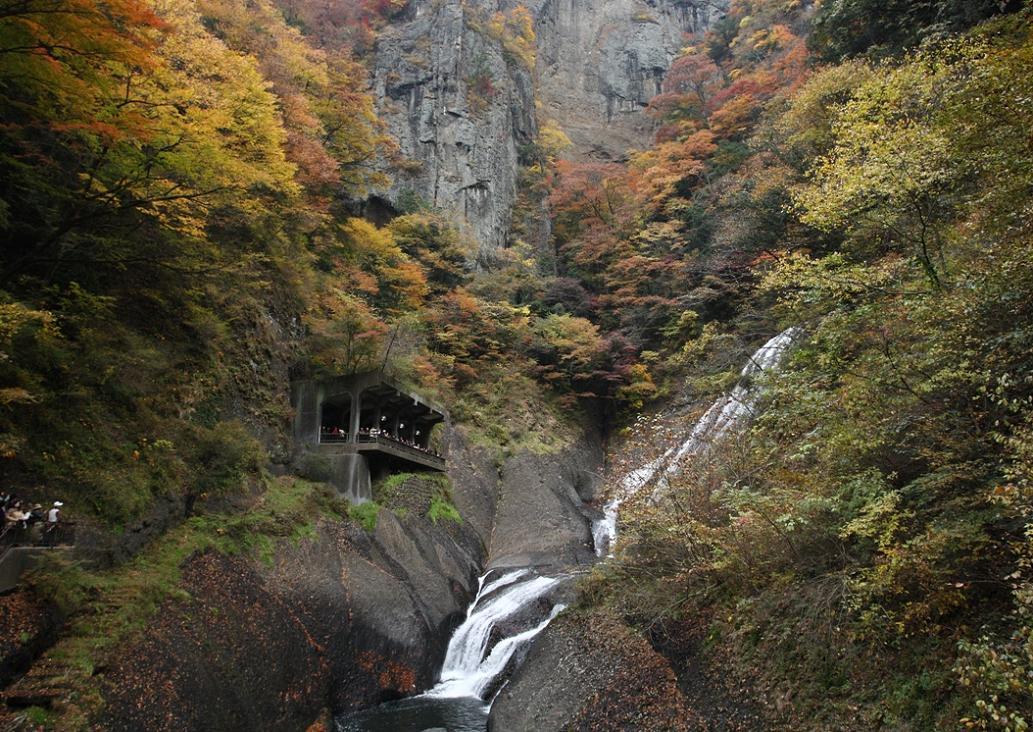 袋田の滝 紅葉<4> 2008年11月15日_e0143883_18361562.jpg