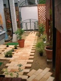 お庭が出来る過程・・・♪_f0181000_1216924.jpg