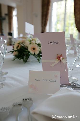 結婚式のパーティー会場_c0024345_9194868.jpg
