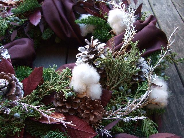 オークリーフ(クリスマスオーダーリース)_f0049672_1543553.jpg