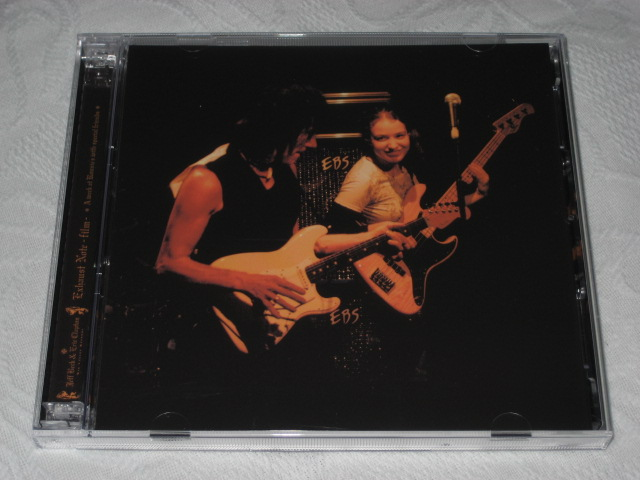 JEFF BECK AND ERIC CLAPTON / EXHAUST NOTE - FILM -_b0042308_1213220.jpg