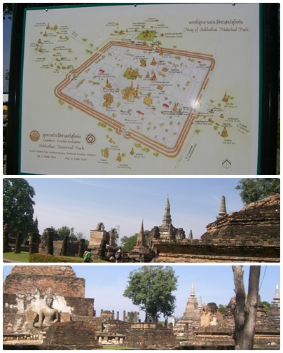 タイの乗り物と スコータイ遺跡_a0084343_17445447.jpg