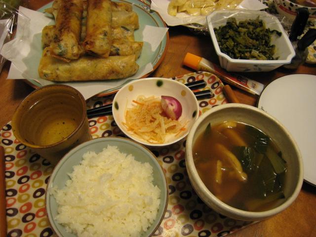 日曜日の食卓_e0121558_0525234.jpg