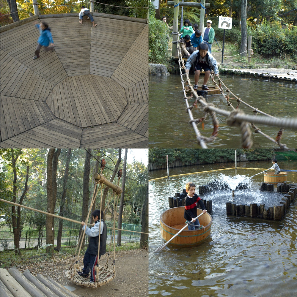 平和の森公園フィールドアスレチックコース_a0002672_9423264.jpg
