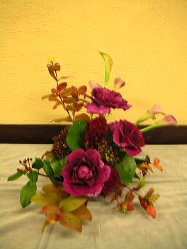 花の講座 2回目 収穫感謝 in 明日館公開講座_c0128489_1371517.jpg