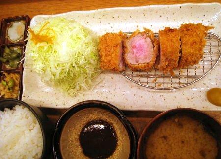 日本橋ディナー とんかつと豚肉料理 平田牧場 金華豚棒ヒレかつ膳_b0133053_4202168.jpg