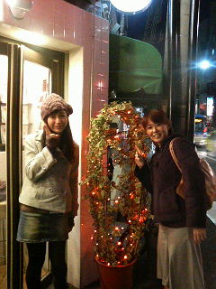 クリスマス仕様だね_a0075684_1115892.jpg