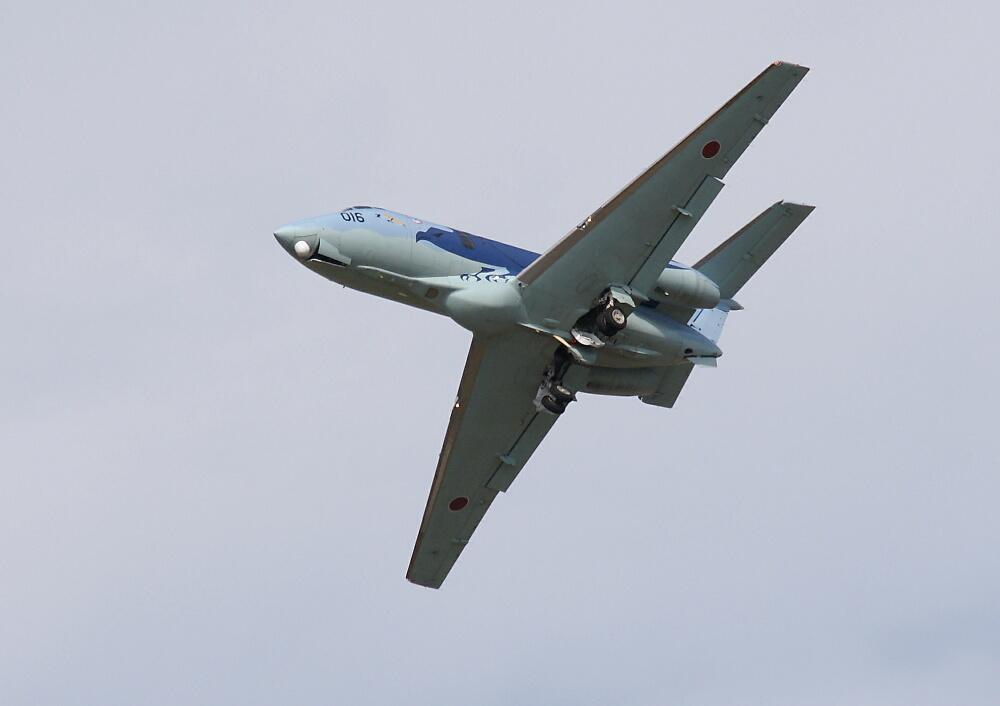 10/12の百里(航空観閲式予行)・その7~U-125とC-130、そしていよいよブルーインパルス(前編)~_d0137627_2324767.jpg