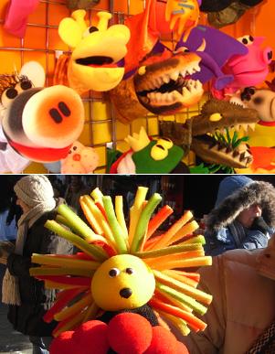 ホリデーマーケットで見つけたカラフルなお人形屋さん_b0007805_13404980.jpg