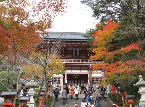 紅葉を訪ねて鞍馬 由岐神社_e0048413_21444376.jpg